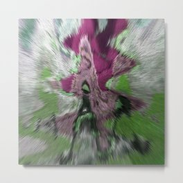 A VIEW INTO THE VESSEL HOLDING HYPERSPACE CHANNEL TWENTY-TWO Metal Print