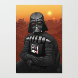 Leo, i am your father... Canvas Print