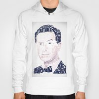 stephen king Hoodies featuring Stephen Colbert by Virtual Window
