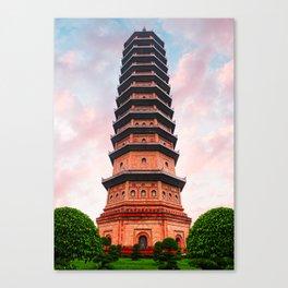 Beautiful Vietnam Pagoda Canvas Print