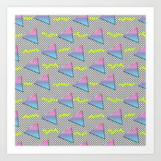 Fun Pattern Art Print