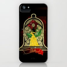 Beauty and the beast (Belle) Slim Case iPhone (5, 5s)