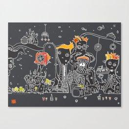 Dub Canvas Print