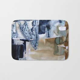Landscape with Argonauts - Abstract 0024 Bath Mat