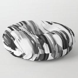 obelisk posture 2 (monochrome series) Floor Pillow