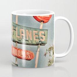 Freeway Lanes Bowl - Selma, CA Coffee Mug