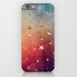 Starry emergence iPhone Case