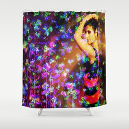 """""""Against Winds"""" by surrealpete Shower Curtain"""