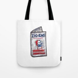 Zig-Zag Rolling Papers Tote Bag