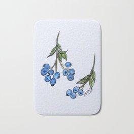 Blue Berries Bath Mat