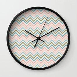 Wave Pattern Wall Clock