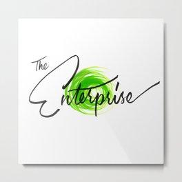 The Enterprise Metal Print