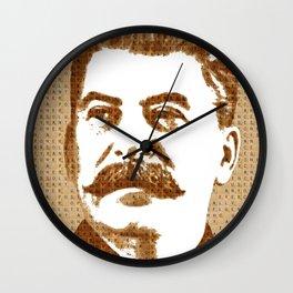 Scrabble Joseph Stalin Wall Clock