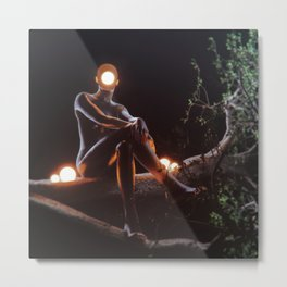 Nightowl Metal Print