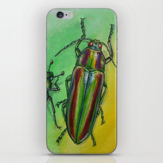 Shinny Beetle iPhone Skin