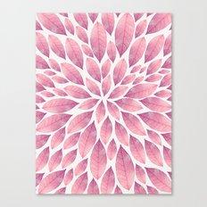 Petal Burst #10 Canvas Print