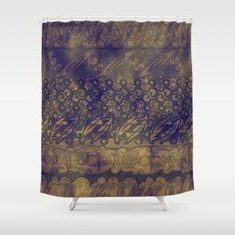 Batik Ornaments from Yogyakarta Shower Curtain