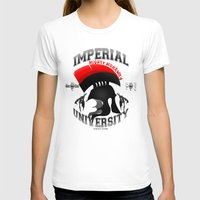 skyrim T-shirts featuring Imperial University(Skyrim) by Chubbybuddhist