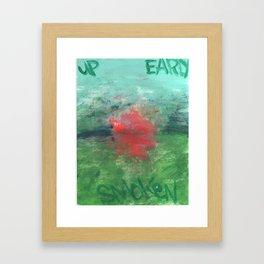 Early Framed Art Print
