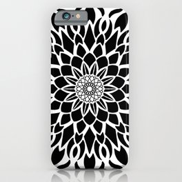 Sacred Manadala bold iPhone Case