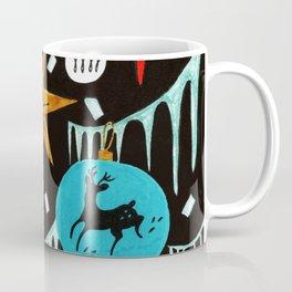 Mid Century Modern Christmas Tree Coffee Mug