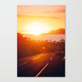 Hawaii Kai Sunset Canvas Print