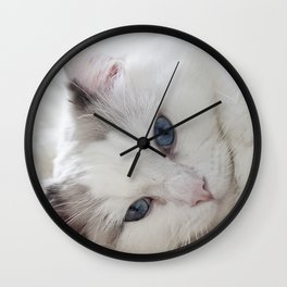 Bedroom eyes Wall Clock