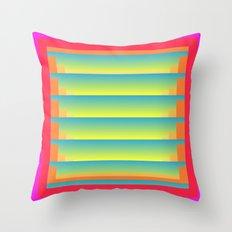 Gradient Fades v.5 Throw Pillow