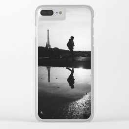 Reflections of Paris Clear iPhone Case