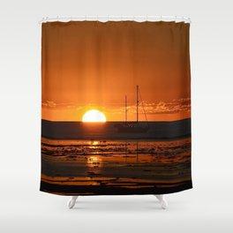 Sundown. Shower Curtain