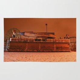 Coney Island - Gregory & Pauls in the winter Rug