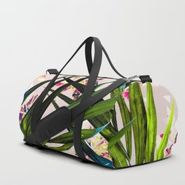 Leaves on mosaic Duffle Bag