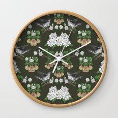 Pear Thief Wall Clock