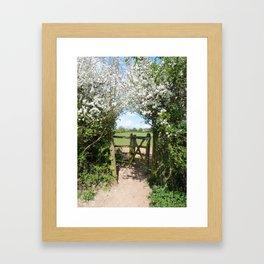 WanderAway Framed Art Print