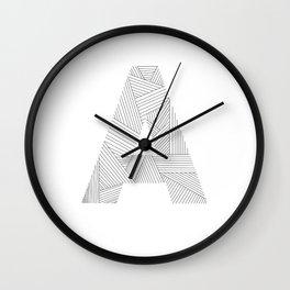 A strings Wall Clock