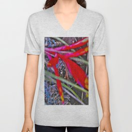 Bromeliad in the Cathedral Unisex V-Neck