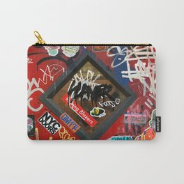 New York City Door Graffiti Carry-All Pouch