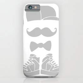 hispter mustache iPhone Case