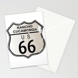 Rancho Cucamonga Route 66 Stationery Cards