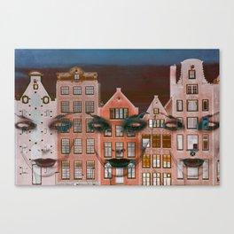 Amsterdam 27 Canvas Print