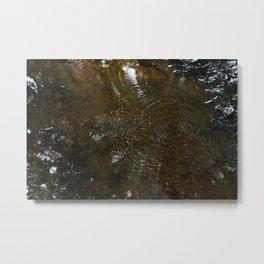 Follow the stream Metal Print