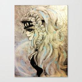 Fantasy Winter Warrior Canvas Print