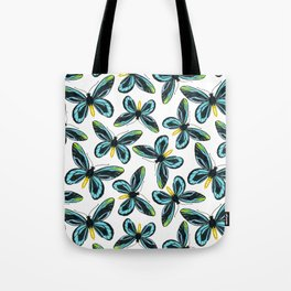 Queen Alexandra' s birdwing butterfly pattern design Tote Bag