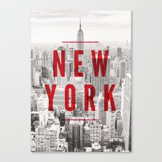 New York Cityscape Canvas Print