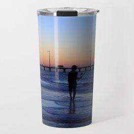 Surf Fishing Outer Banks Travel Mug