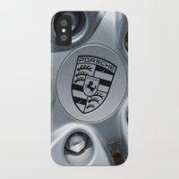 porsche iPhone & iPod Cases featuring Porsche Wheel by SShaw Photographic