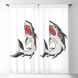 Great White Shark Blackout Curtain