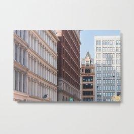 NYC Noho Layers Metal Print
