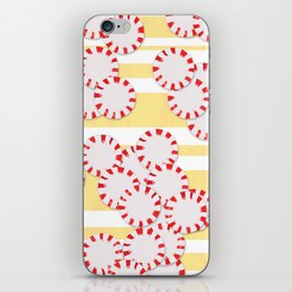 moves in red and yellow parts iPhone Skin