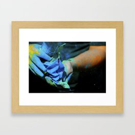 Happy Holi! Framed Art Print